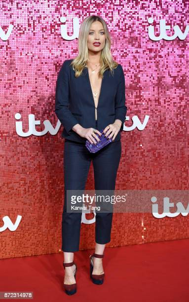Laura Whitmore attends the ITV Gala at the London Palladium on November 9 2017 in London England