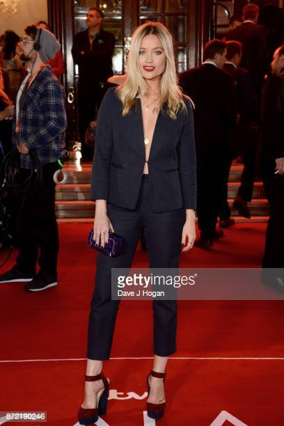 Laura Whitmore attends the ITV Gala held at the London Palladium on November 9 2017 in London England