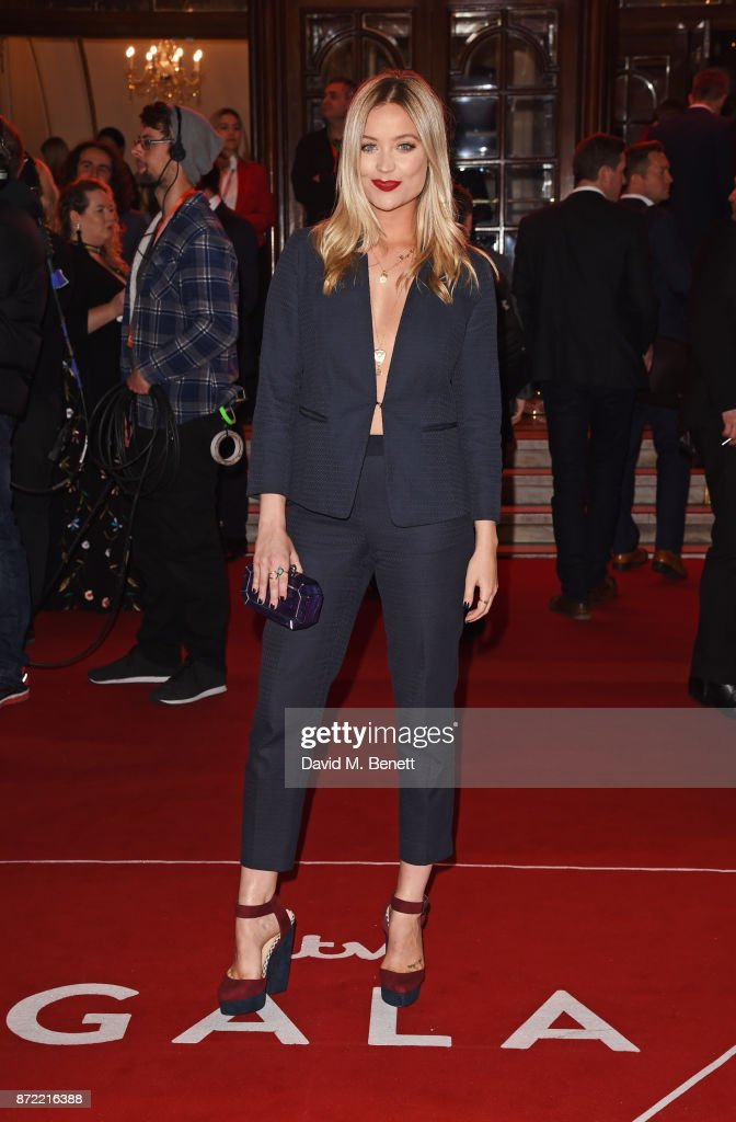 Laura Whitmore attends the ITV Gala held at the London Palladium on November 9, 2017 in London, England.