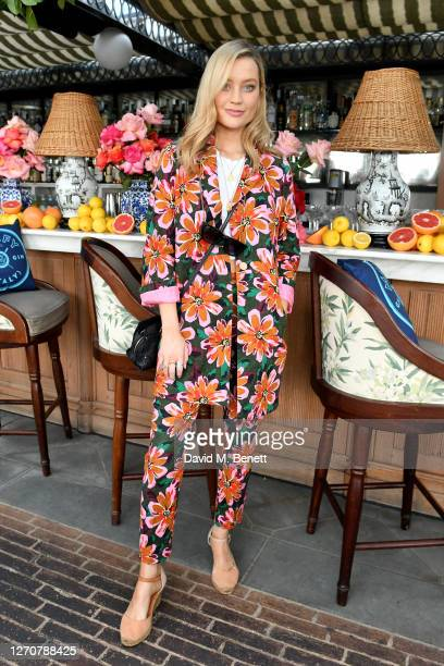 Laura Whitmore attends the launch of the Ned's Club X Malfy Gin partnership at Ned's Club on September 05 2020 in London England
