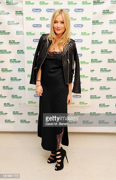 Laura Whitmore attends the Macmillan De'Longhi Art Auction raising money for Macmillan Cancer Support at Royal College of Art on September 23 2013 in...