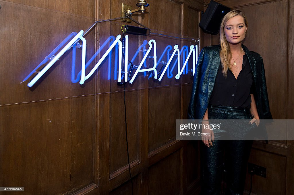Laura Whitmore attends the Miami in London Party at Soho House on June 14, 2015 in London, England.