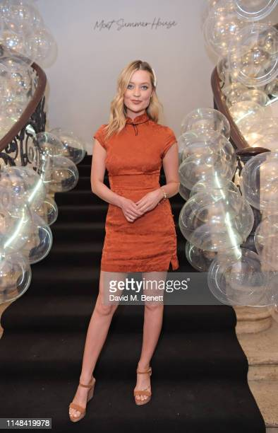 Laura Whitmore attends the Moet Summer House opening night on June 6 2019 in London England