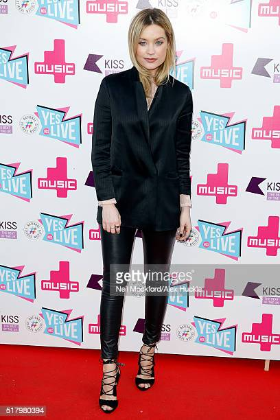 Laura Whitmore attends the National Citizen Service Live event at the Roundhouse Chalk Farm on March 29 2016 in London England