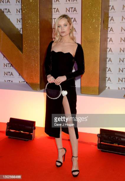 Laura Whitmore attends the National Television Awards 2020 at The O2 Arena on January 28 2020 in London England