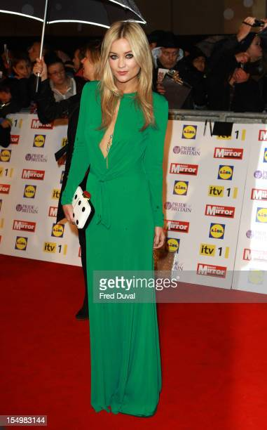 Laura Whitmore attends the Pride Of Britain awards at Grosvenor House on October 29 2012 in London England