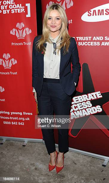 Laura Whitmore attends the Prince's Trust Celebrate Success Awards at Odeon Leicester Square on March 26 2013 in London England