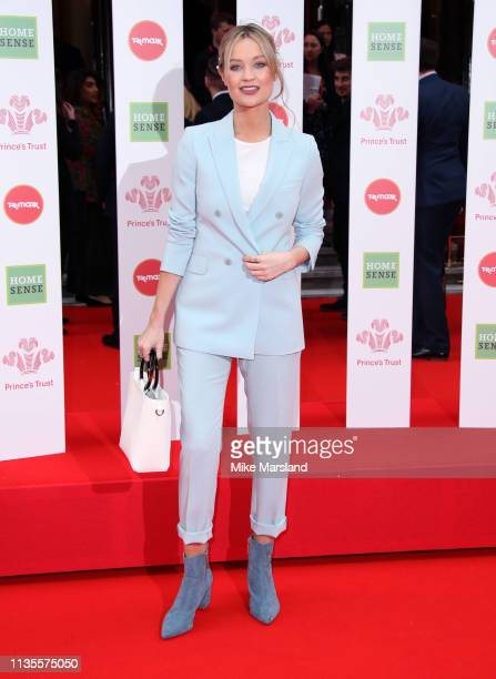 Laura Whitmore attends The Prince's Trust, TKMaxx and Homesense Awards at The Palladium on March 13, 2019 in London, England.
