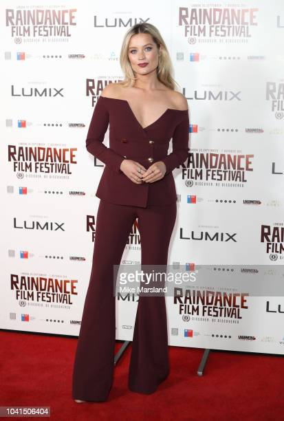 Laura Whitmore attends the Raindance Opening Gala 2018 held at Vue West End on September 26 2018 in London England
