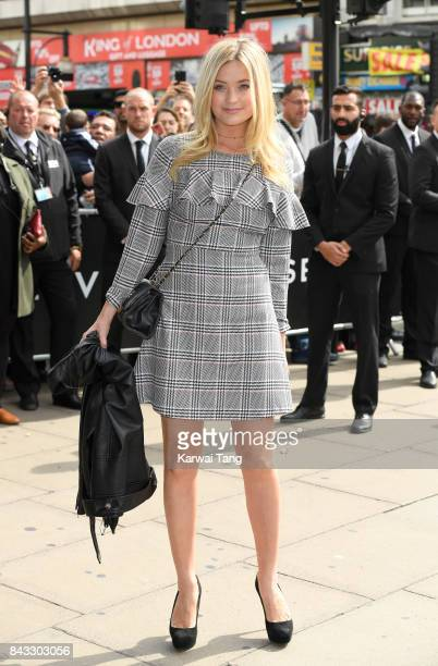 Laura Whitmore attends the 'RESERVED' opening event photocall in Oxford Street on September 6 2017 in London England