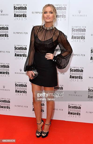 Laura Whitmore attends the Scottish Fashion Awards at Corinthia Hotel London on September 3 2015 in London England