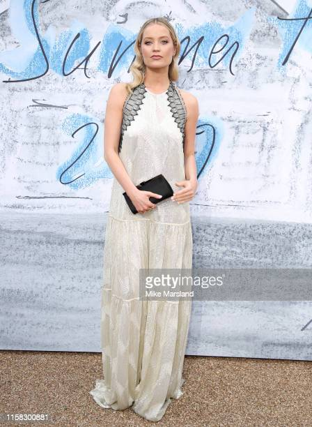 Laura Whitmore attends The Summer Party 2019 Presented By Serpentine Galleries And Chanel at The Serpentine Gallery on June 25 2019 in London England