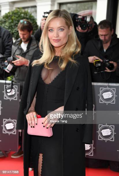 Laura Whitmore attends the TRIC Awards 2018 held at the Grosvenor House Hotel on March 13 2018 in London England