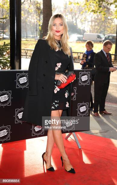 Laura Whitmore attends the TRIC Awards Christmas lunch at Grosvenor House on December 12 2017 in London England