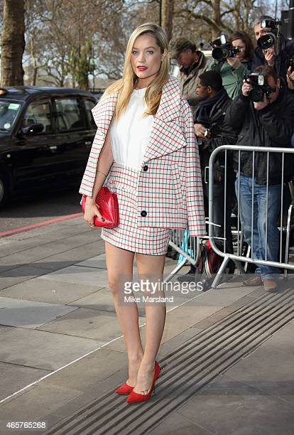 Laura Whitmore attends the TRIC Awards on March 10 2015 in London England