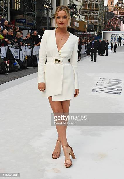"""Laura Whitmore attends the UK premiere of """"Star Trek Beyond"""" on July 12, 2016 in London, United Kingdom."""