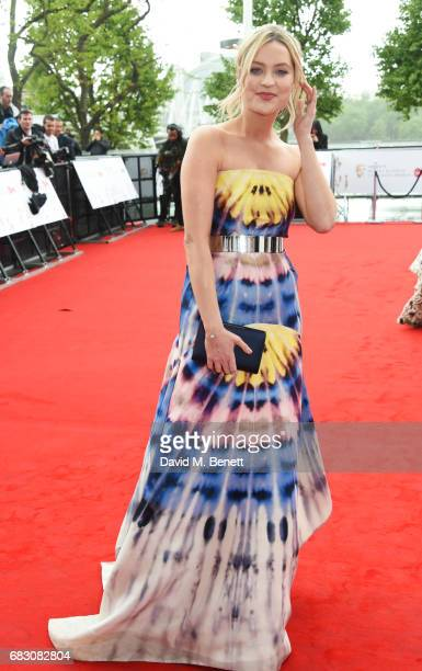Laura Whitmore attends the Virgin TV BAFTA Television Awards at The Royal Festival Hall on May 14 2017 in London England