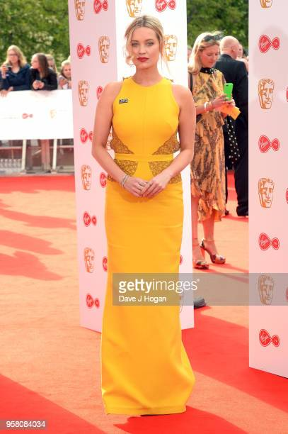 Laura Whitmore attends the Virgin TV British Academy Television Awards at The Royal Festival Hall on May 13 2018 in London England
