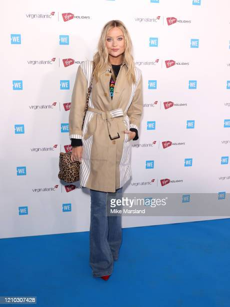 Laura Whitmore attends WE Day UK 2020 at The SSE Arena Wembley on March 04 2020 in London England