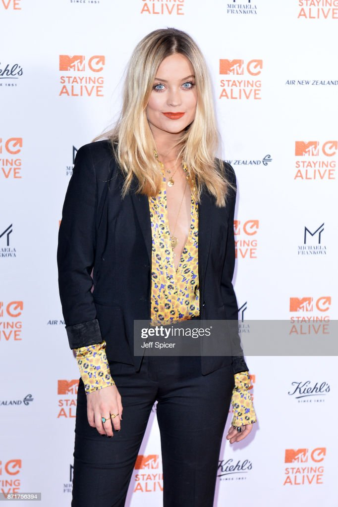 Laura Whitmore during the 'MTV Staying Alive' gala at 100 Wardour Street on November 8, 2017 in London, England.