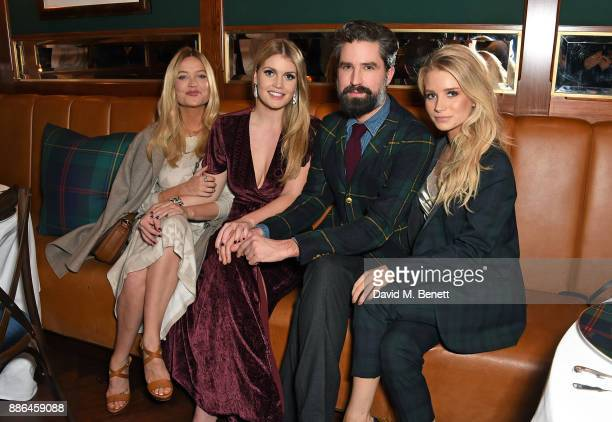 Laura Whitmore Lady Kitty Spencer Jack Guinness and Lottie Moss attend the Polo Bear Holiday Dinner hosted by Polo Ralph Lauren and Alexandra...