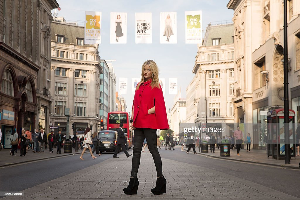 Henry Holland, Lulu Guinness & Laura Whitmore Take Front Row Seats At The Opening Of Oxford Street's Fashion Showcase : News Photo