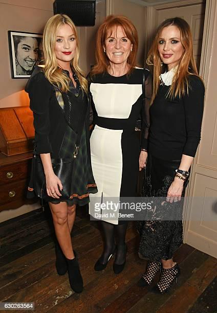Laura Whitmore Sarah Ferguson Duchess of York and Georgina Chapman attend a VIP screening of Lion hosted by Harvey Weinstein and Georgina Chapman at...