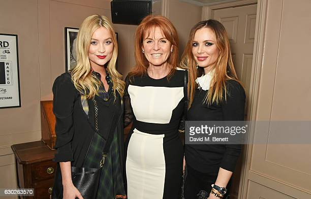 Laura Whitmore Sarah Ferguson Duchess of York and Georgina Chapman attend a VIP screening of Lion hosted by Harvey Weinstein and Georgina Chapman at...
