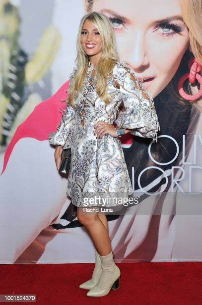 Laura Wilde attends the GENLUX Fashion And Philanthropy Magazine Issue Release Party hosted by actress/model Olivia Jordan at SUR Lounge on July 18...