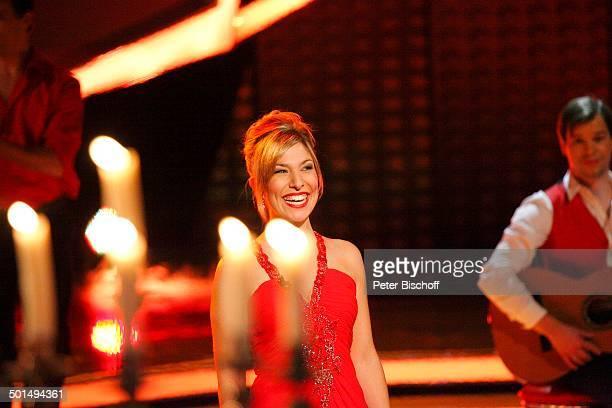 Laura Wilde ZDFMusikshow Willkommen bei C a r m e n N e b e l Braunschweig Niedersachsen Deutschland Europa Auftritt Bühne Promi BB FTP PNr 1600/2011