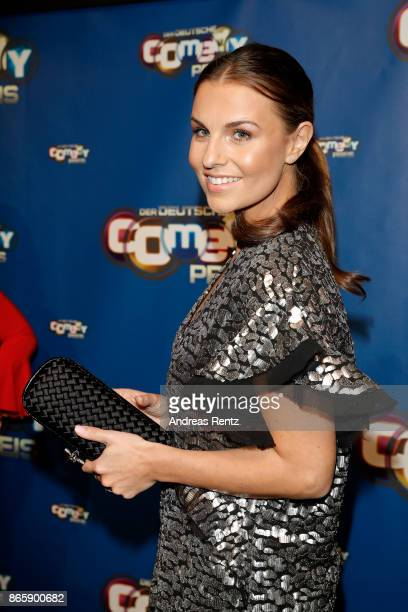 Laura Wontorra attends the 21st Annual German Comedy Awards at Studio in Koeln Muehlheim on October 24 2017 in Cologne Germany