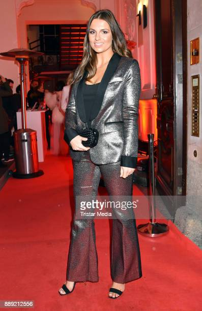 Laura Wontorra attends the Ein Herz Fuer Kinder Gala 2017 After Show Party at Borchardt Restaurant on December 9 2017 in Berlin Germany