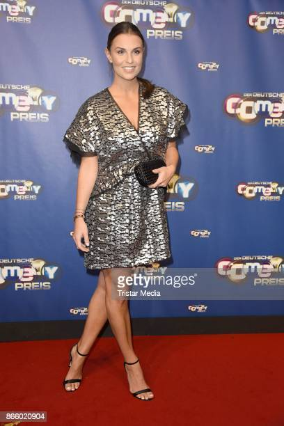 Laura Wontorra attends the German Comedy Awards at Studio in Koeln Muehlheim on October 24 2017 in Cologne Germany