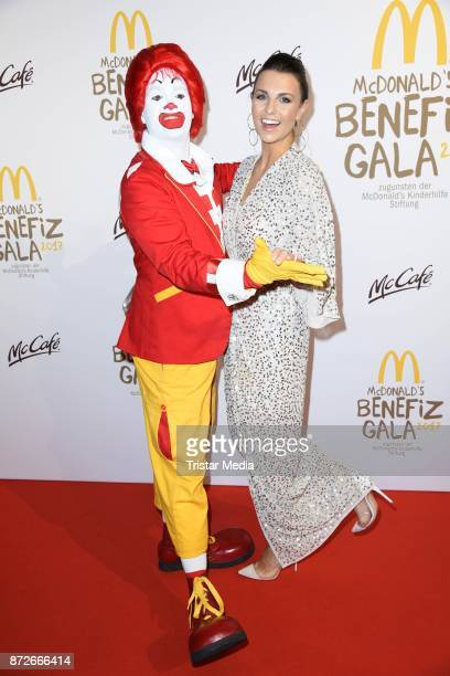 Laura Wontorra attends the McDonald's charity gala at Hotel Bayerischer Hof on November 10 2017 in Munich Germany