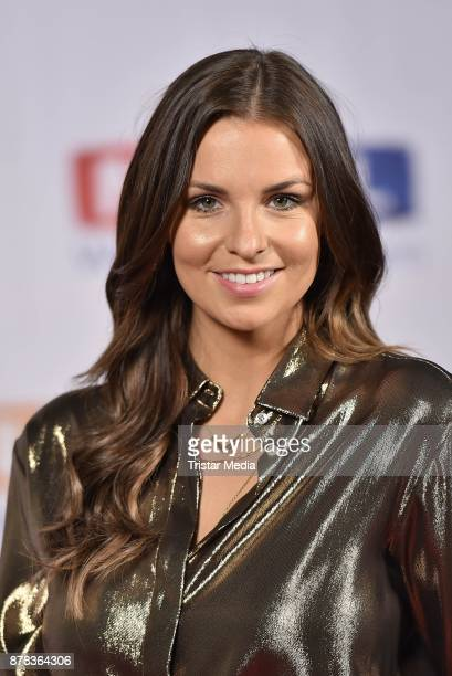 Laura Wontorra attends the RTL Telethon 2017 on November 24 2017 in Huerth Germany