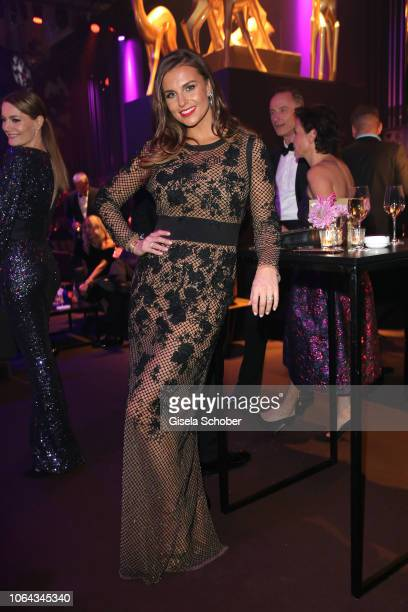 Laura Wontorra during the Bambi Awards 2018 after party at Stage Theater on November 16 2018 in Berlin Germany