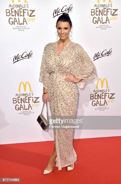 Laura Wontorra during the McDonald's charity gala at Hotel Bayerischer Hof on November 10 2017 in Munich Germany