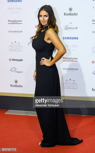 Laura Wontorra is seen during the German Sports Media Ball at Alte Oper on November 4 2017 in Frankfurt am Main Germany