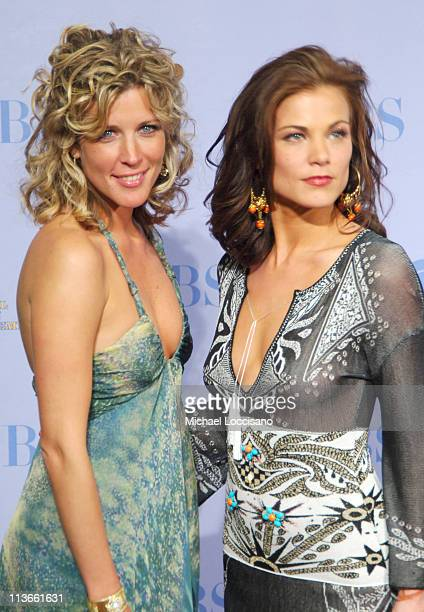 Laura Wright and Gina Tognoni during 32nd Annual Daytime Emmy Awards Press Room at Radio City Music Hall in New York City New York United States