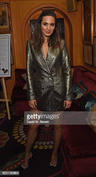 Laura Wright attends a private dinner hosted by Annabel's celebrating the 125th anniversary of The Dog's Trust on November 1 2016 in London England