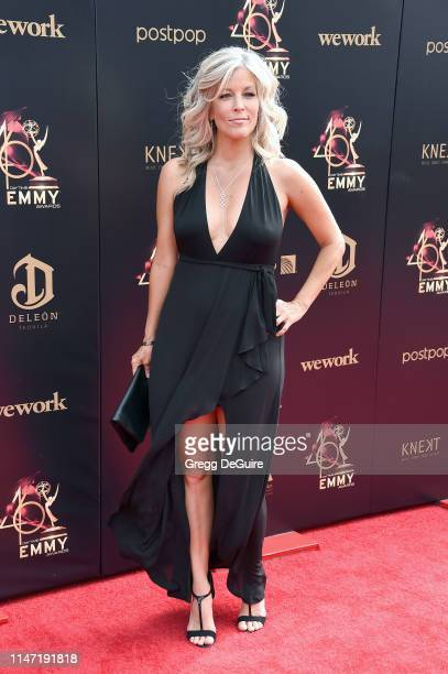 Laura Wright attends the 46th annual Daytime Emmy Awards at Pasadena Civic Center on May 05, 2019 in Pasadena, California.
