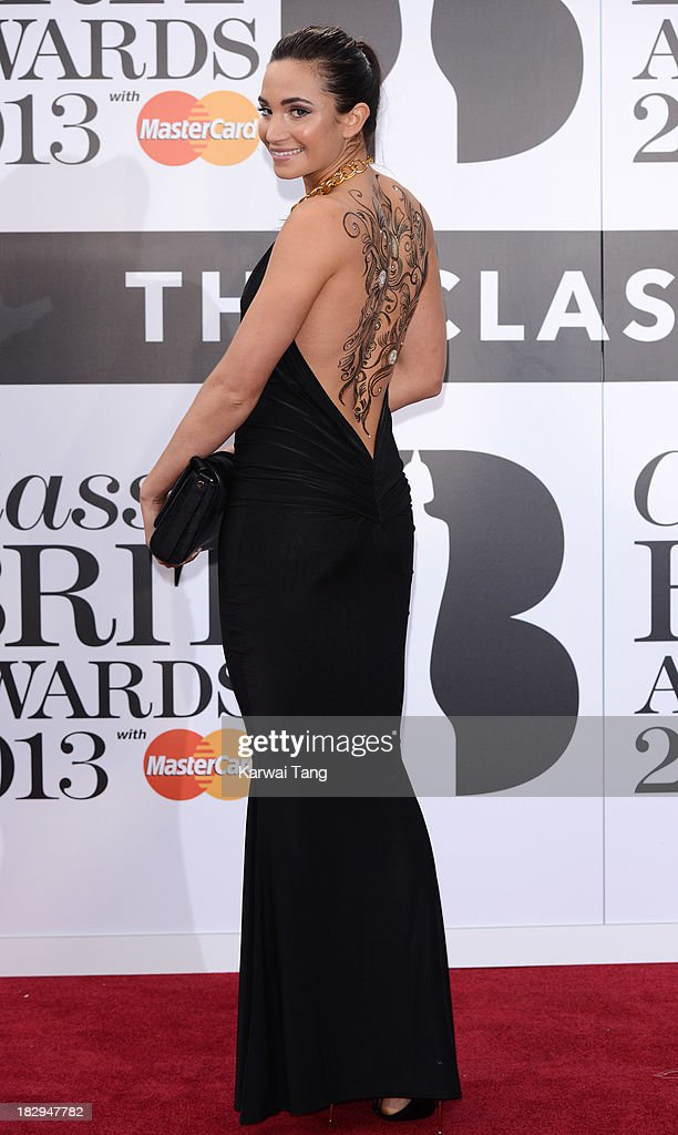 Laura Wright attends the Classic BRIT Awards 2013 at Royal Albert Hall on October 2, 2013 in London, England.