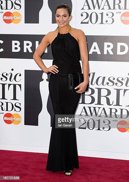 Laura Wright attends the Classic BRIT Awards 2013 at the Royal Albert Hall on October 2 2013 in London England