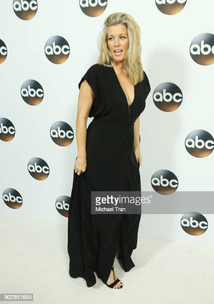 Laura Wright attends the Disney ABC Television Group hosts TCA Winter Press Tour 2018 held at The Langham Huntington on January 8, 2018 in Pasadena,...