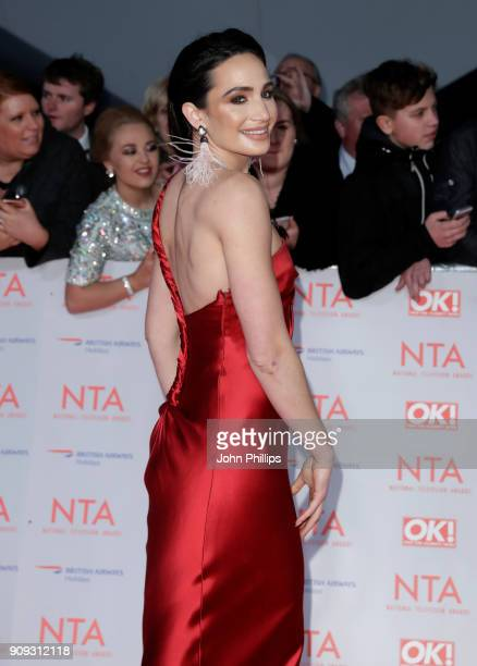 Laura Wright attends the National Television Awards 2018 at the O2 Arena on January 23 2018 in London England