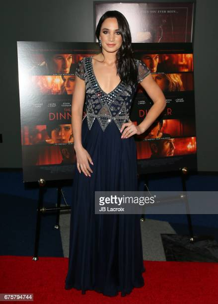 Laura Wright attends the premiere of The Orchard's 'The Dinner' on May 01, 2017 in Beverly Hills, California.