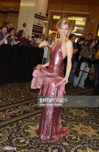 Laura Wright of Guiding Light during 30th Annual Daytime Emmy Awards PreShow Reception at Sheraton Hotel in New York City New York United States