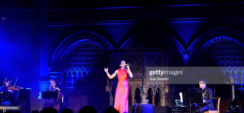Laura Wright Performs At Union Chapel In London