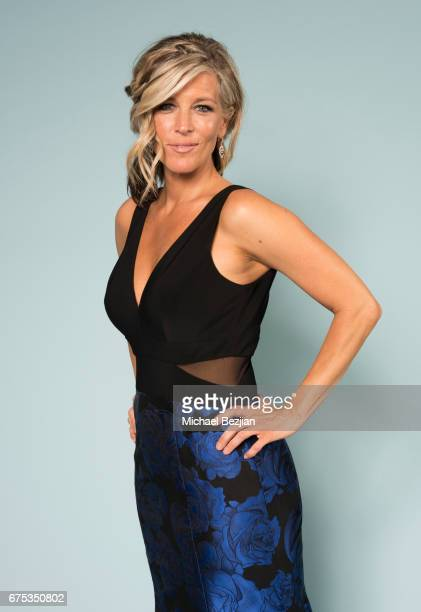 Laura Wright pose for portraits at The 44th Daytime Emmy Awards Portraits by The Artists Project Sponsored by Foster Grant on April 30 2017 in Los...
