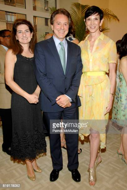 Laura Zeckendorf Will Zeckendorf and Amy Fine Collins attend Susan FalesHill's ONE FLIGHT UP Book Launch Party at 15 Central Park West on July 21st...